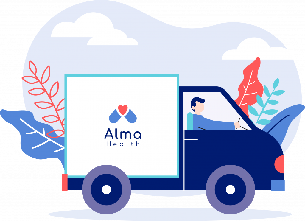 Alma health free delivery 2